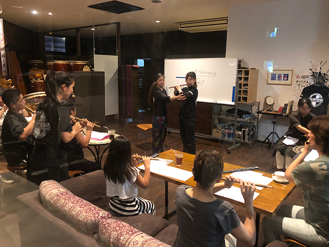 和太鼓教室アトリエスカイ しのカフェ